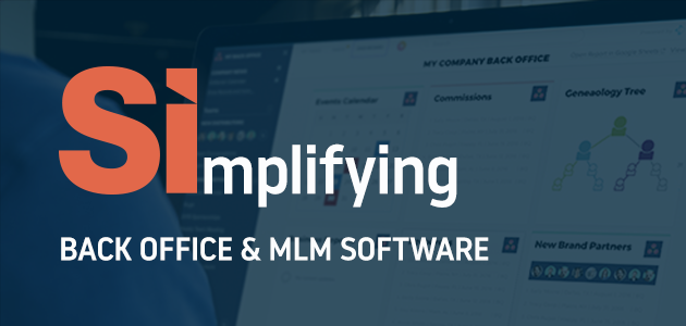 Simplifying Back Office and MLM Software