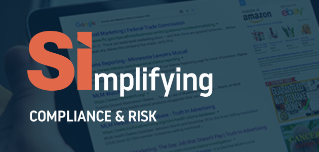 Simplifying Compliance and Risk